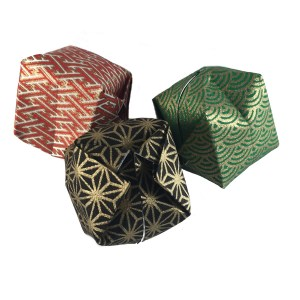 """Traditional Origami Waterbomb """"Origami Waterbombs make great Christmas Decorations!"""" - origamiexpressions.com"""