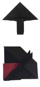 "Origami Matador in Progress ""Llopio's Moment of Truth"" - www.origamiexpressions.com"