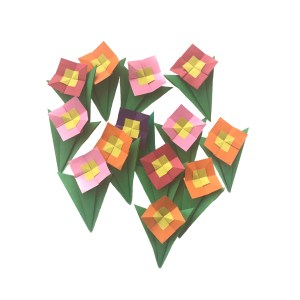 "Gay Merrill Gross's Pocket Posy ""An Origami Pocket Posy"" www.origamiexpressions.com"