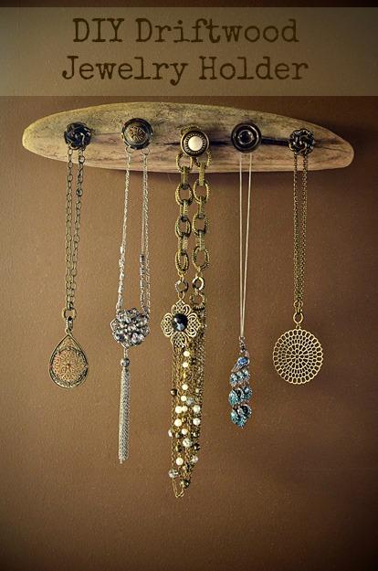 Inspiracje DIY 9 pomysłów na przechowywanie biżuterii