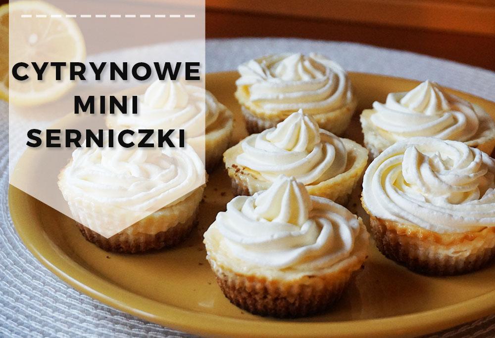 Przepis na deser: Cytrynowe mini serniki