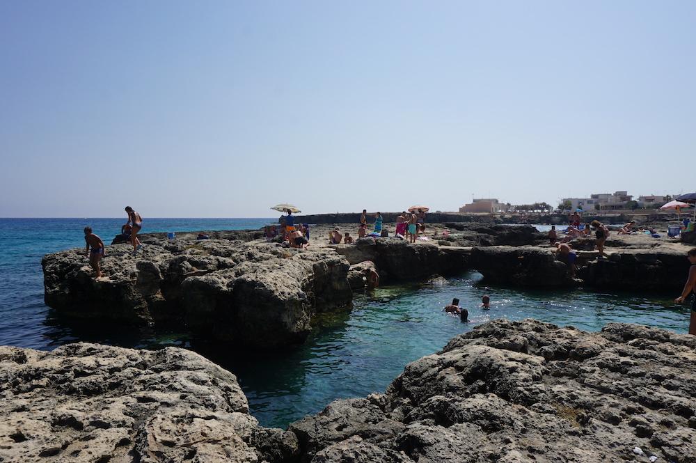 Plaże Apulii - Spiaggia di Punta Sapone