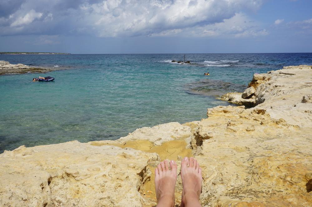 Plaże Apulii - Puglia co zobaczyć - Caletta Toraiello