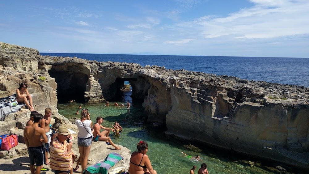 Plaże Apulii - Puglia co zobaczyć Spiaggia e Piscina