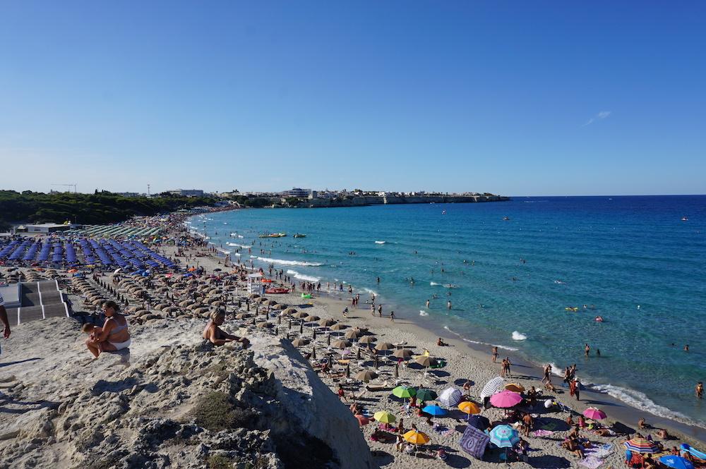 Plaże Apulii - Puglia co zobaczyć Torre dell'Orso