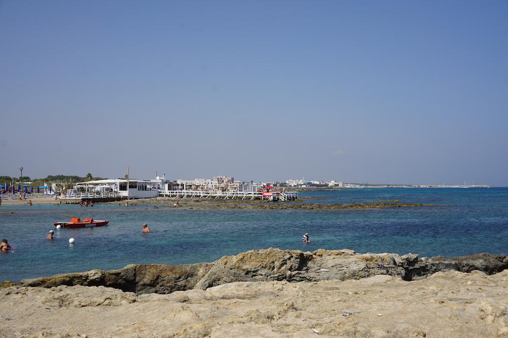 Plaże Apulii - Puglia co zobaczyć- San Foca