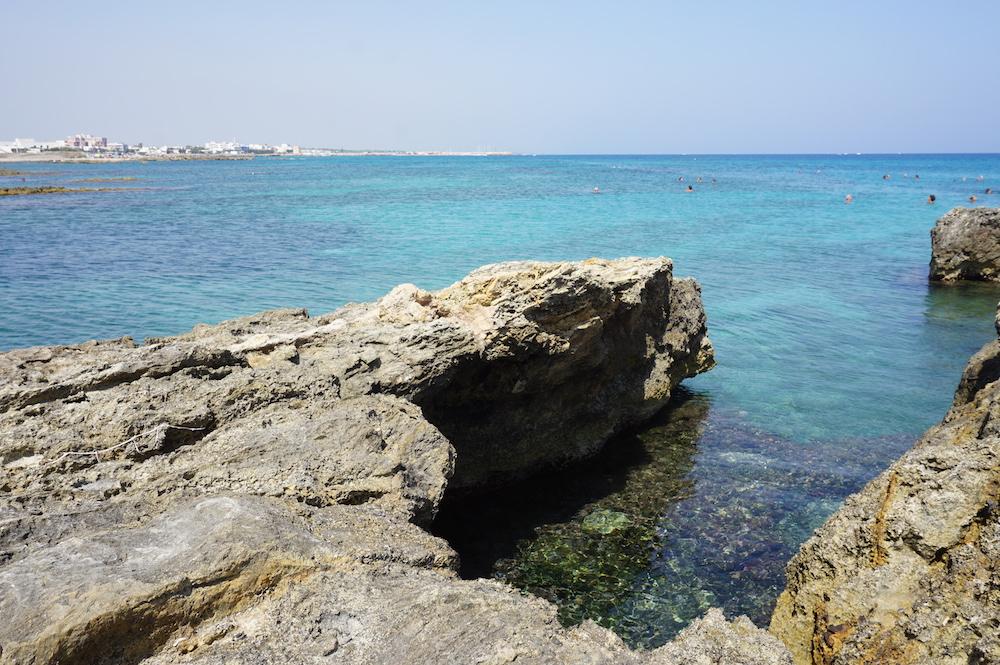 Plaże Apulii - Puglia co zobaczyć San Foca