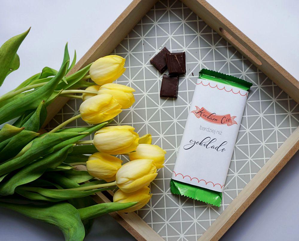 DIY Miłosne etykiety na czekoladę do druku dla ukochanej osoby