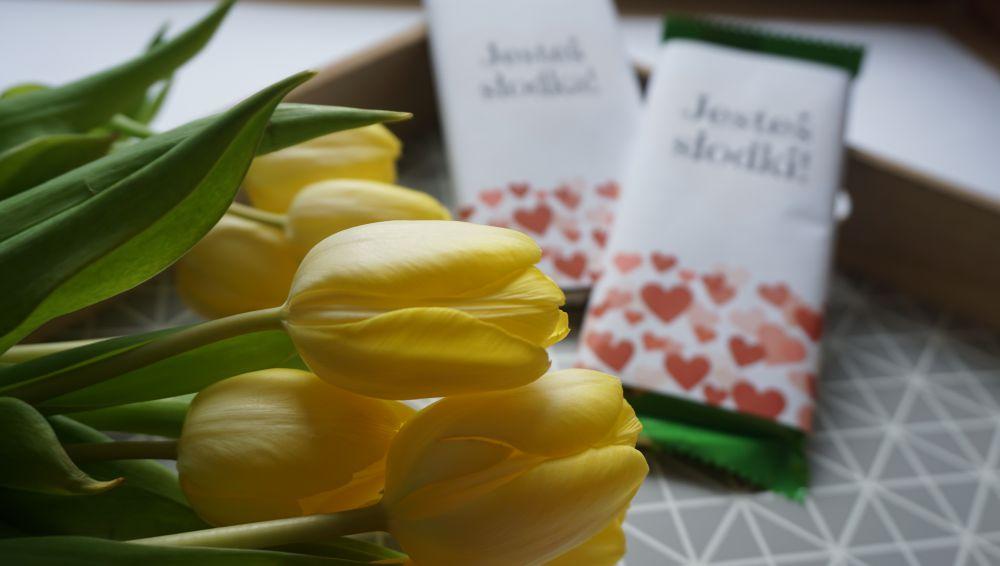 DIY Walentynkowe etykiety na czekoladę do druku