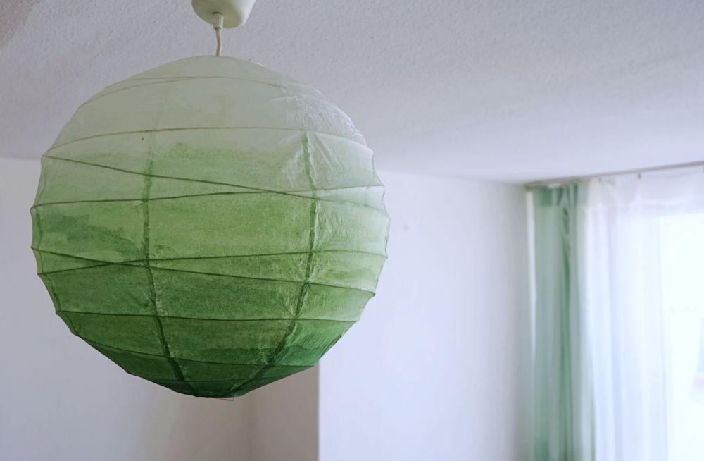 DIY Lampa ombre