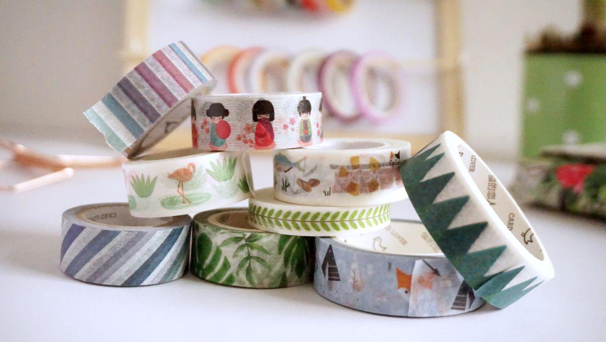 DIY Organizer na washi tape - Organizacja taśm washi
