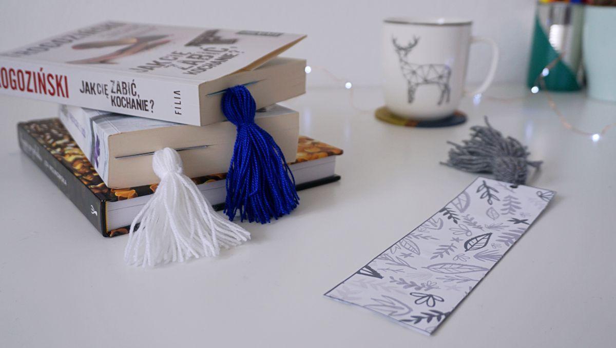 DIY Zakładka do książki do druku