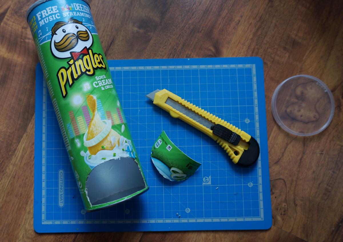 4 pomysły na wykorzystanie puszek po Pringles
