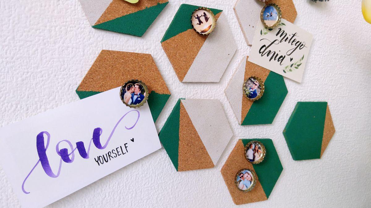 DIY Pinezki-kapsle ze zdjęciem, mini ramki na zdjęcie