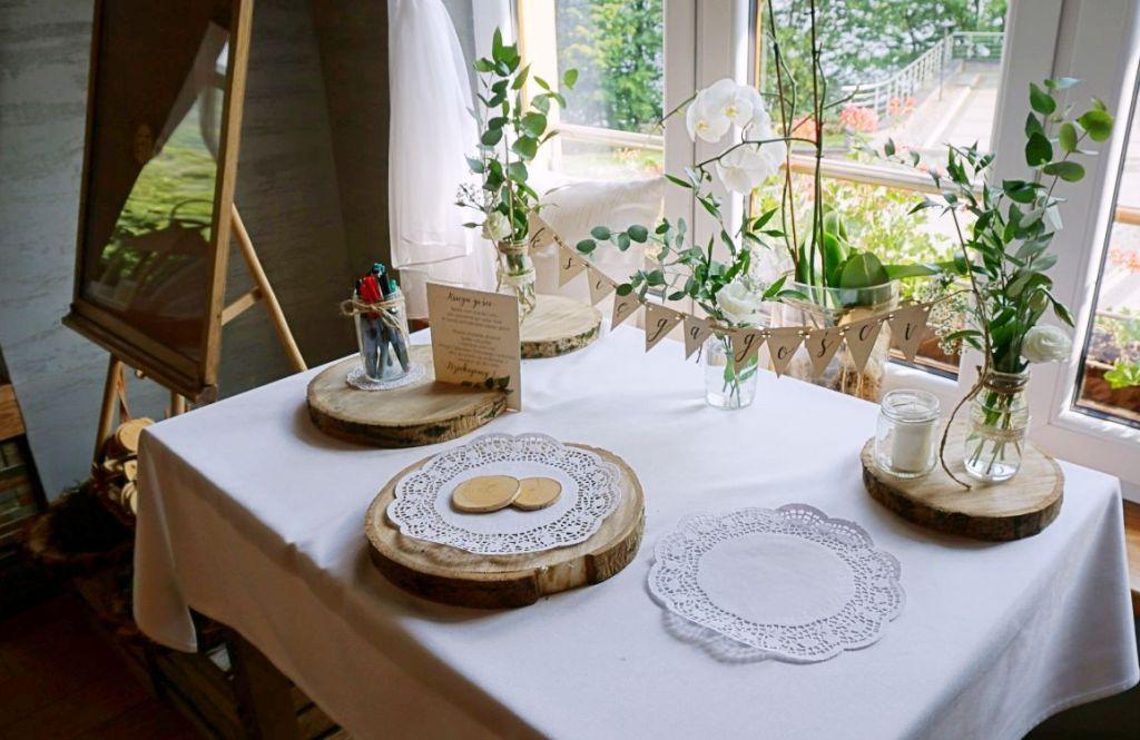 DIY Rustykalne dekoracje pomysł na księgę gości