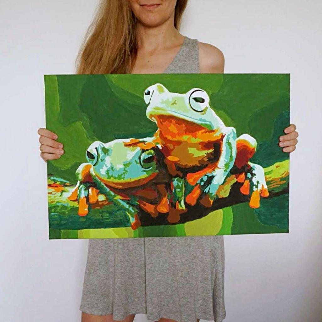 DIY Malowanie po numerach - obraz
