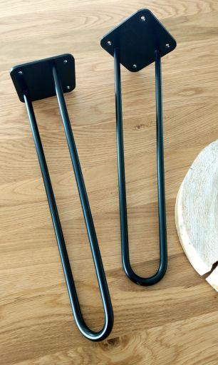 DIY Stojak pod doniczkę - metalowe nogi