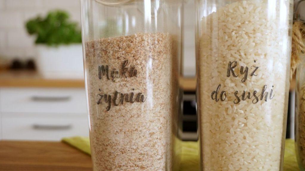 DIY Etykiety kuchenne na pojemniki IKEA