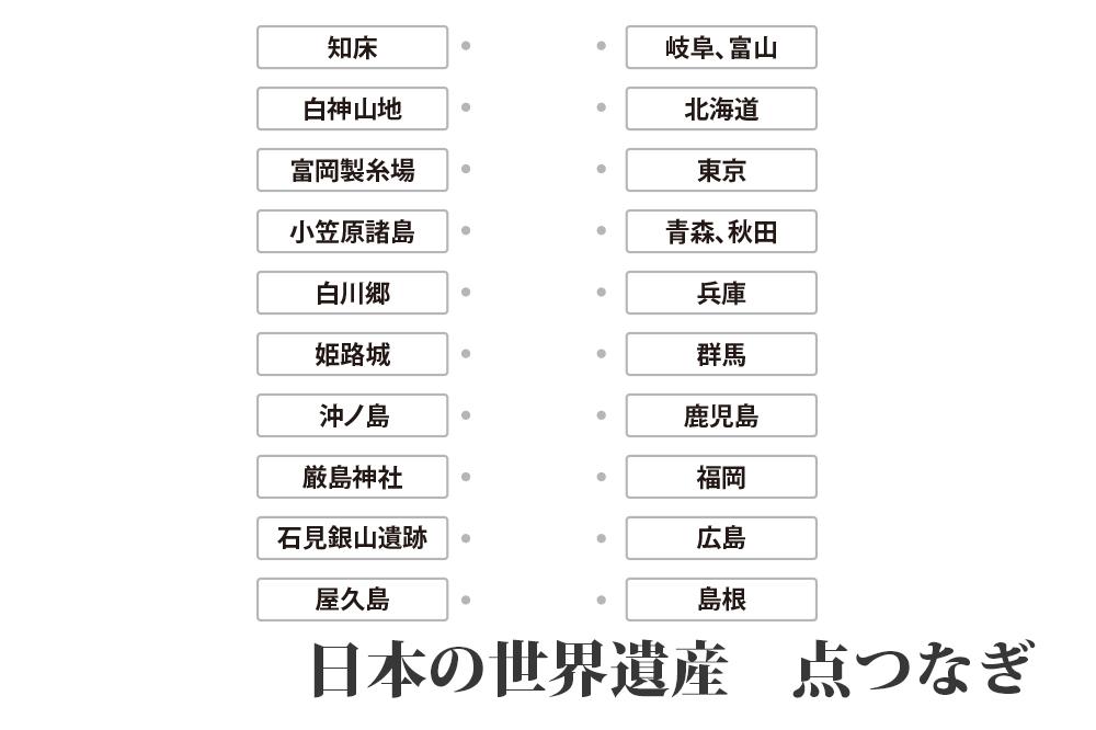 日本の世界遺産 点つなぎ』|キッズの無料学習プリント素材 | origami kids