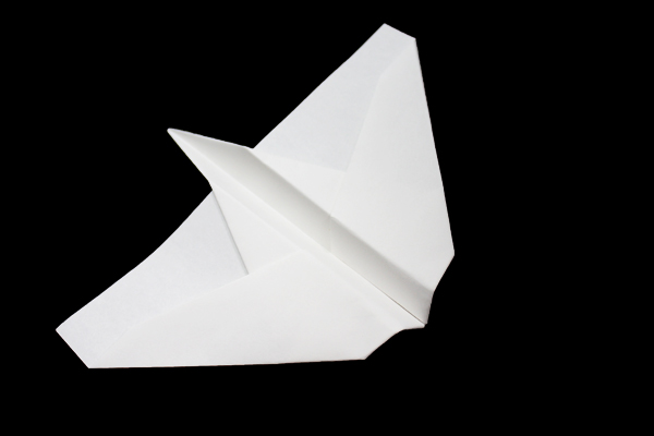 Origami Airplane Instructions – How to Make Paper Airplanes Type-2