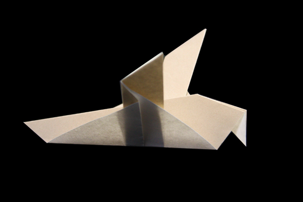 Dove | Easy bird origami instructions and diagram