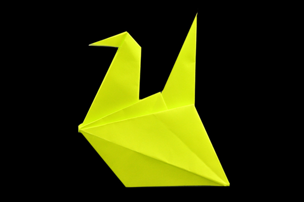Bird | Easy origami instructions and diagram