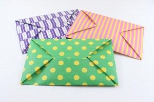 便利でかわいい!《封筒・ポチ袋》の折り方