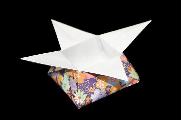 箱・飾り箱の折り方・作り方 折り紙JAPAN