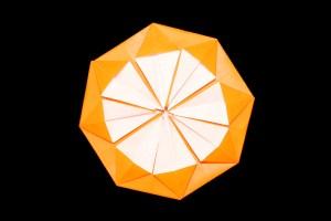 メダルの折り紙-折り方・作り方