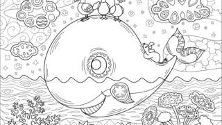 幼児向けの塗り絵知育のための無料プリント 折り紙japan
