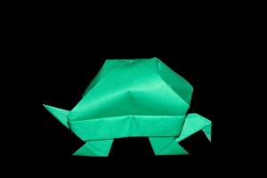 Turtle Type-1 | 100 Easy origami instructions and diagram