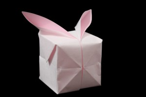 Rabbit Balloon | Easy origami instructions and diagram