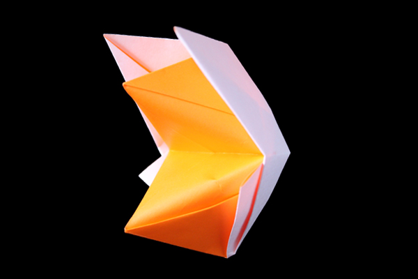 Talking Fox | Easy origami instructions and diagram