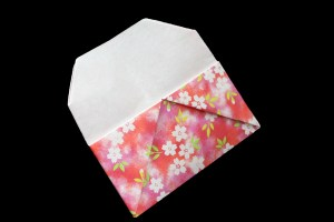 Card Case   Easy origami instructions and diagram