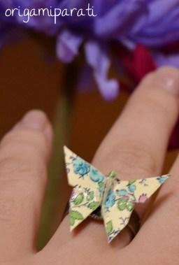 Anillo de mariposa
