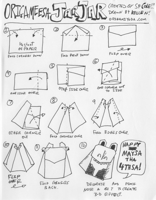 online origami instructions