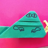 For May the Fourth... EZ Origami Jabba Instructions +more!