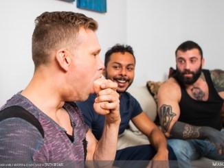 Markus Kage, Milo Madera, Ethan Chase