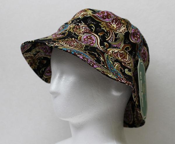 オリジナル刺繍 刺繍キャップ バケットハット bucket hat