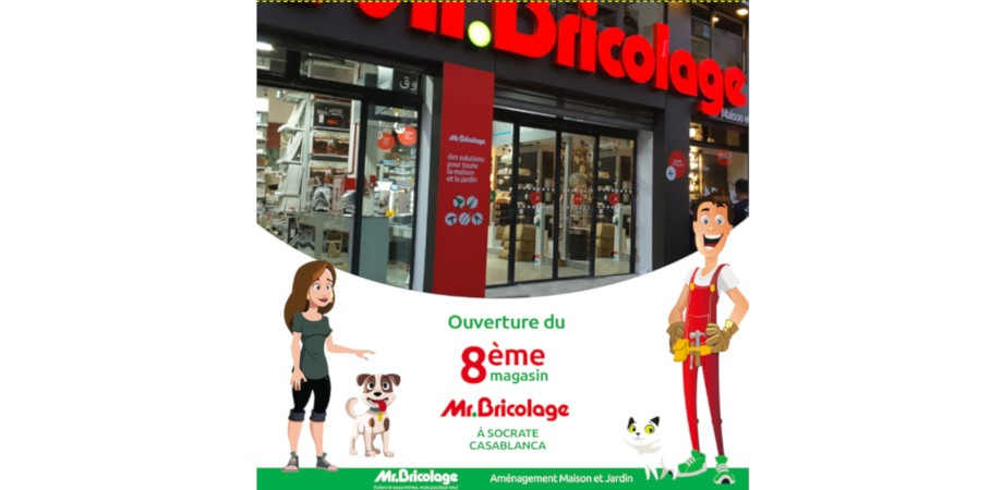 the mr bricolage network opens its 8th