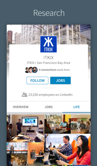 LinkedIn Screenshots - Original APK (2)