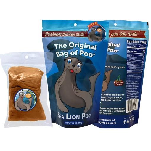 Original Bag Of Poo Product Sea Lion Sticker