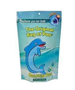 Original Bag Of Poo Product Dolphin Front