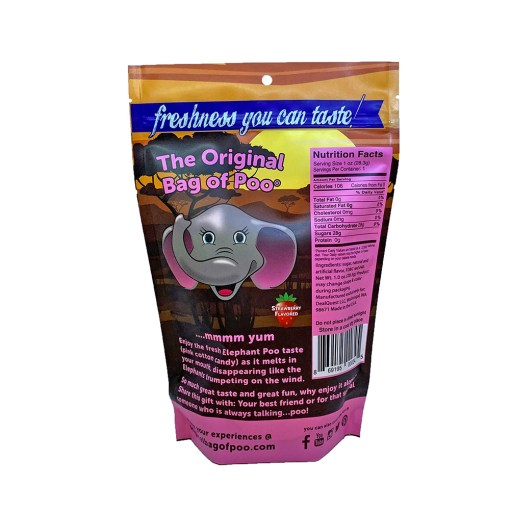 Original Bag Of Poo Product Elephant Back