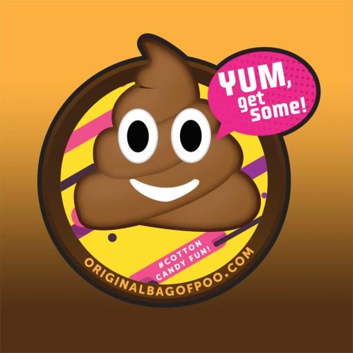 Original Bag Of Poo Product Original Sticker