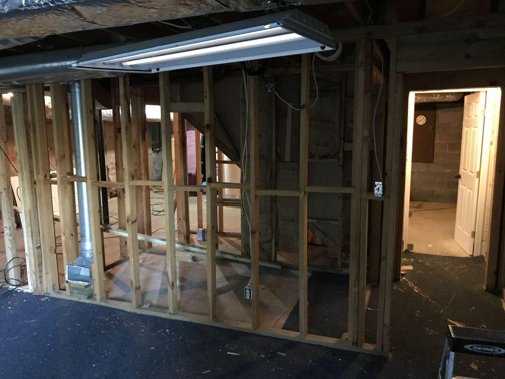 Dunwoody Basement With Bathroom Remodeling Contractor