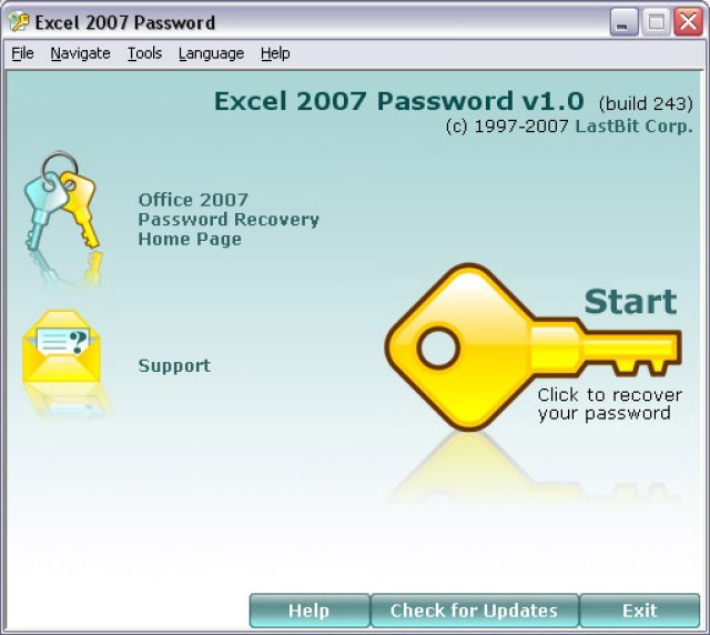 excel2007Psw