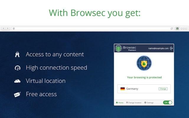 Browsec VPN Premium Pro
