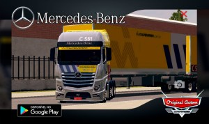 MERCEDES-BENZ NEW ACTROS ITAPEMIRIM CARGAS - SKINS WTDS
