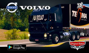 VOLVO FH09 TEGMA LIMPO - SKINS WTDS WORLD TRUCK DRIVING SIMULATOR